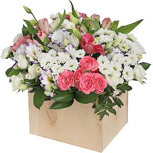 Букеты цветов доставка киров седум белые цветы купить семена в москве адреса